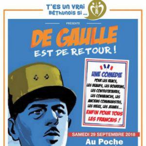 De Gaulle est de retour ! @ Le Poche - Bethune