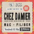 Concert LA NUIT DU PETIT TOU : CHEZ DAMIER & BOUSSOLE RECORDS
