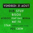 Soirée Summer dub 2018 - closing party - Plage du glazart