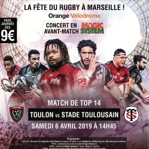 Rc Toulon - Stade Toulousain