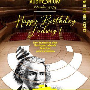 Le Classique Du Dimanche - Happy Birthday Ludwig