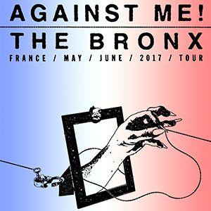 Concert AGAINST ME! + THE BRONX + ANTILLECTUAL