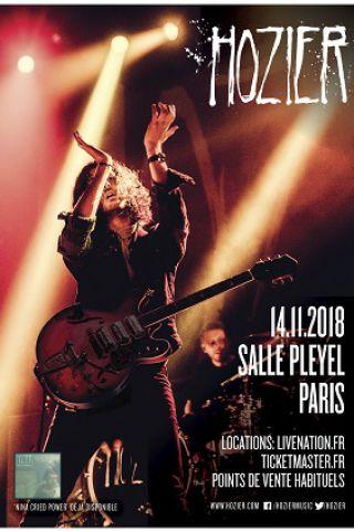 Billets HOZIER - Salle Pleyel