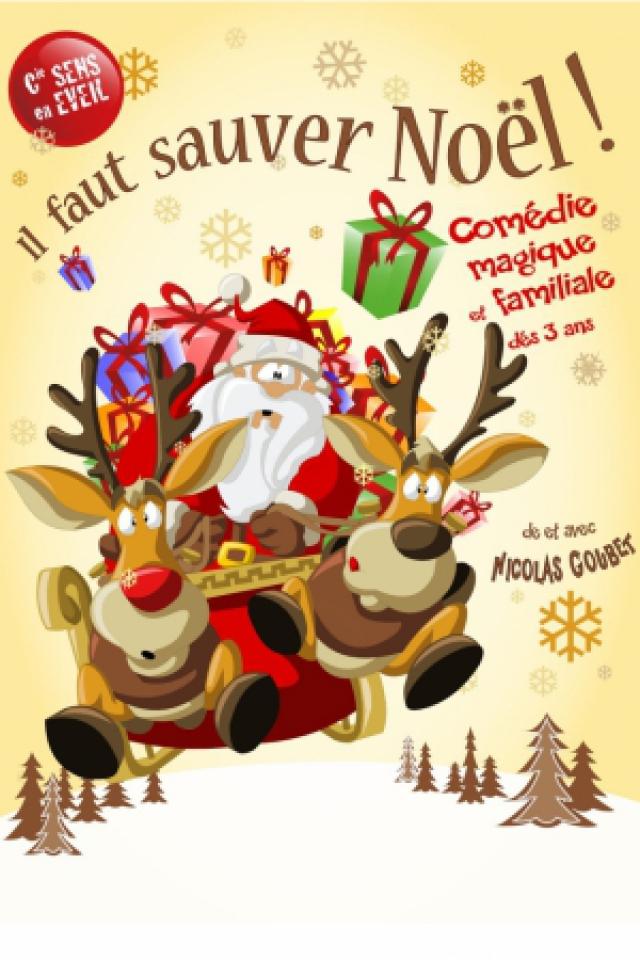 Il faut sauver Noël @ Théâtre des Grands Enfants - Grand Théâtre - CUGNAUX