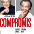 Théâtre COMPROMIS AVEC PIERRE ARDITI ET MICHEL LEEB à Sainte-Clotilde @ TEAT CHAMP FLEURI - Billets & Places