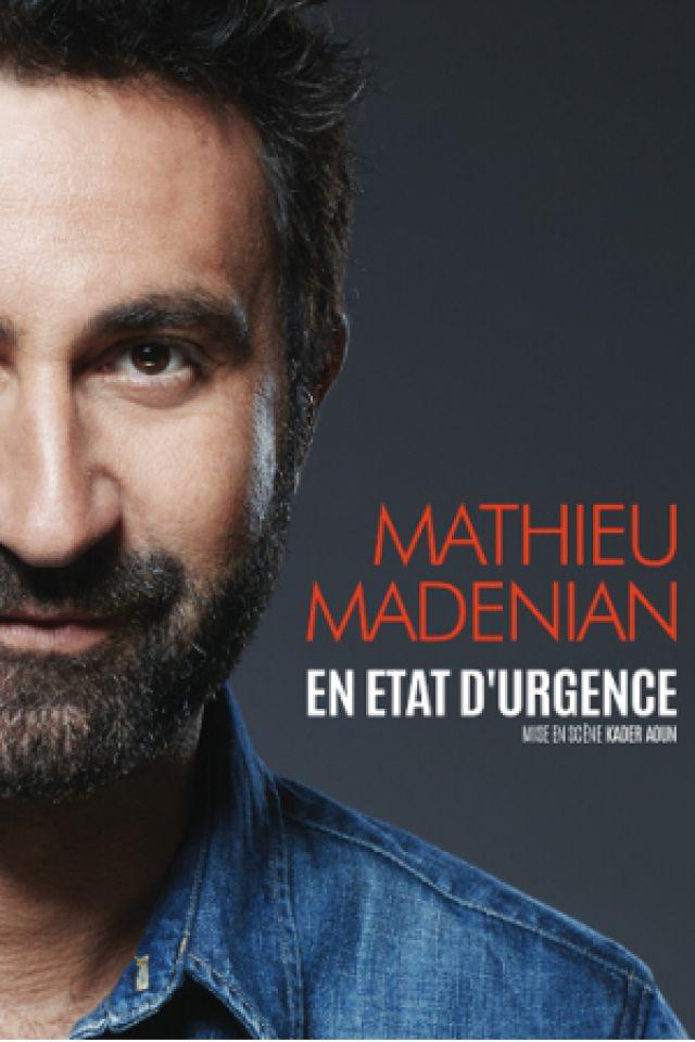 MATHIEU MADENIAN @ CENTRE PAUL-VAILLANT-COUTURIER - SALLE APOLLO - BOUCAU