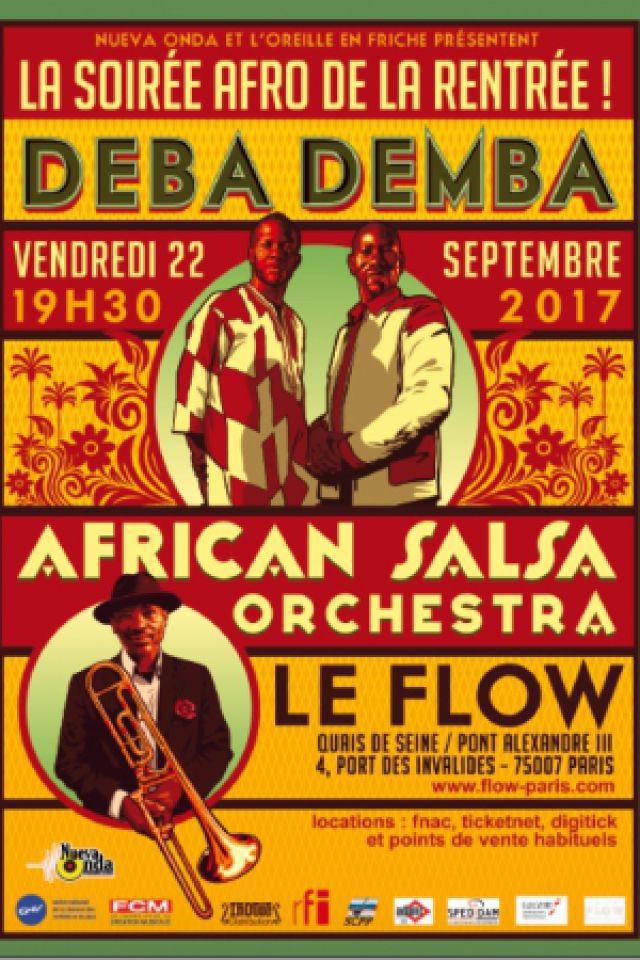 African Salsa Orchestra & Debademba @ FLOW - PARIS