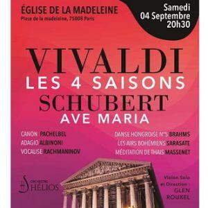 Les 4 Saisons De Vivaldi, Ave Maria Et Célèbres Adagios