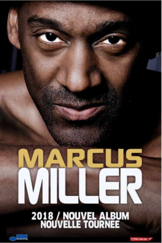 MARCUS MILLER @ Salle Pleyel - Paris