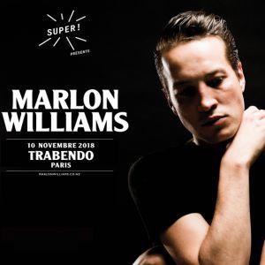 MARLON WILLIAMS @ Le Trabendo - Paris