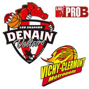 PRO B - VOLTAIRE vs VICHY @ Complexe Sportif Jean Degros - DENAIN