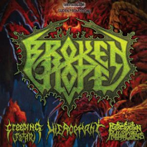 broken hope + hierophant + creeping fear + porc @ Le Gibus  - PARIS
