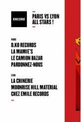 Soirée Encore : Paris vs Lyon all stars !
