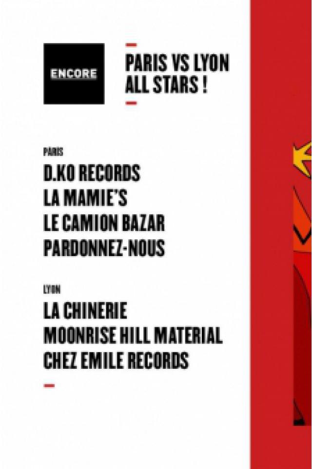 Billets Encore : Paris vs Lyon all stars ! - TRANSBORDEUR