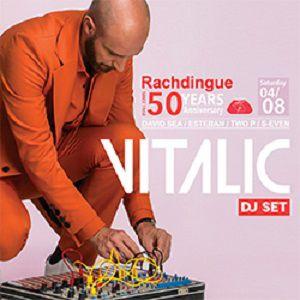 VITALIC - 50 ANS DU RACHDINGUE @ Le Rachdingue - Vilajuiga
