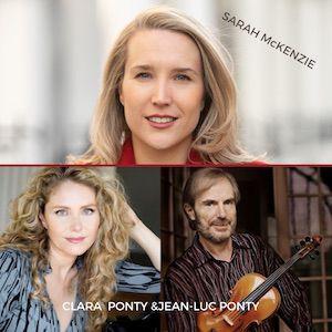 Sarah Mckenzie/ Secrets Of My Heart / Jean-Luc Ponty& Clara Ponty