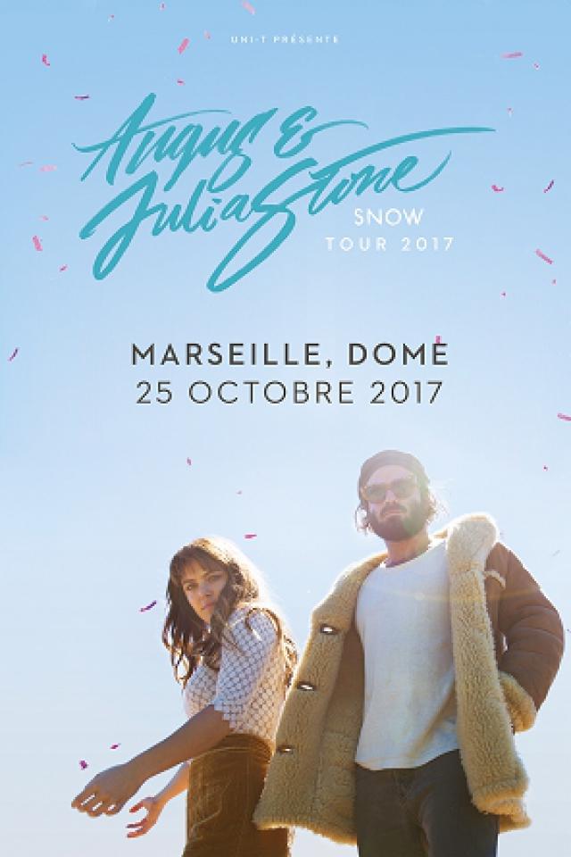 Concert ANGUS & JULIA STONE à Marseille @ Le Dôme - Billets & Places