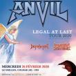 Concert ANVIL + Defraktor + Armageddon Death Squad Grillen Colmar