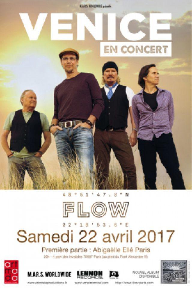 Concert VENICE à PARIS @ FLOW - Billets & Places