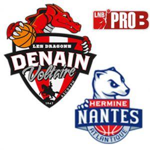 PRO B - VOLTAIRE vs NANTES @ Complexe Sportif Jean Degros - DENAIN