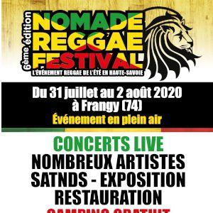 Nomade Reggae Festival 2020 - Pass Vendredi 31 Juillet