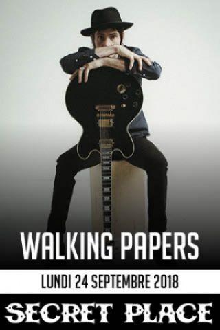 Billets WALKING PAPERS - SECRET PLACE