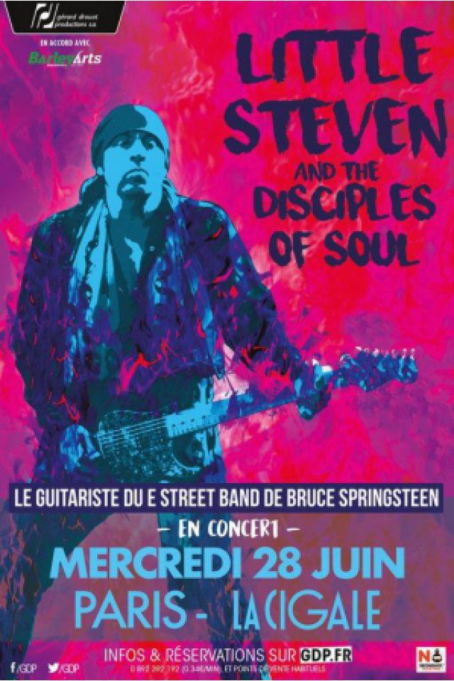 Billets LITTLE STEVEN & THE DISCIPLES OF SOUL - La Cigale