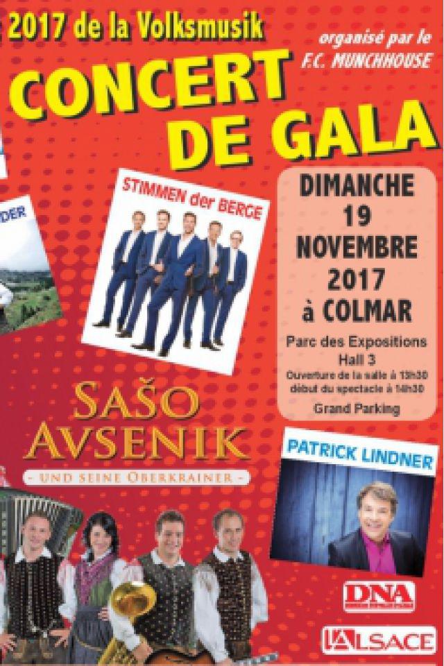 CONCERT DE GALA @ PARC DES EXPOSITIONS - COLMAR