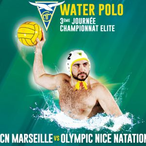 J3 Championnat Water-Polo : Cn Marseille - Olympic Nice Natation