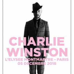CHARLIE WINSTON + NAYA @ ELYSEE MONTMARTRE PARIS - PARIS