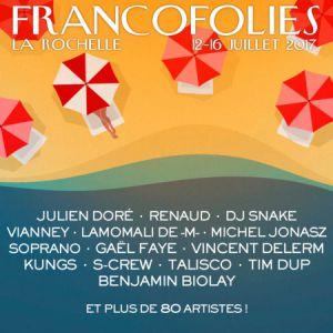 Festival FRANCOFOLIES 2017 : KENT + BENJAMIN SIKSOU à La Rochelle @ Salle Bleue - La Coursive - Billets & Places