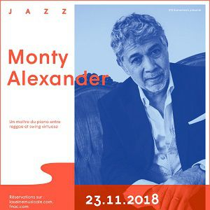 MONTY ALEXANDER @ Auditorium - La Seine Musicale - BOULOGNE BILLANCOURT