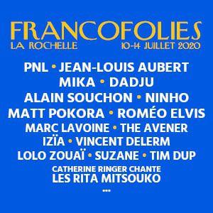 Francofolies 2020: The Avener - Pnl - Philippe Katerine