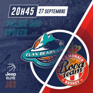 ELAN BEARNAIS / MONACO @ Palais des Sports de Pau - PAU