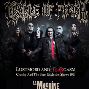 Cradle Of Filth : Cruelty & The Beast 2019 Tour