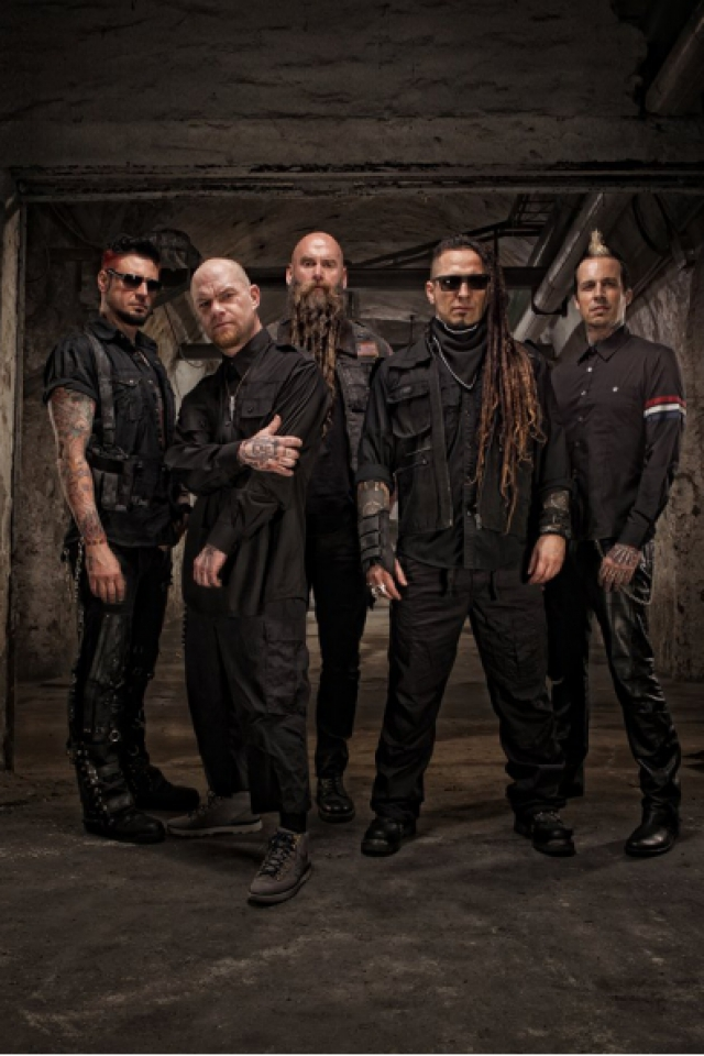 FIVE FINGER DEATH PUNCH + IN FLAMES @ L'Olympia - Paris