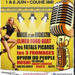 LA VOIX DU ROCK - Marcel & son orchestre / Les 3 fromages / Opium @ Abbaye de Valence - COUHÉ
