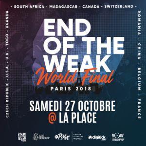 END OF THE WEAK WORLD FINAL @ La Place - PARIS