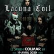 Concert LACUNA COIL + THE OLD DEAD TREE au Grillen de Colmar