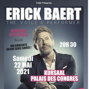 Erick Baert - The Voice's Performer À Dunkerque