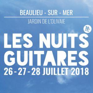 Les Nuits Guitares - Vendredi 27 Juillet @ Jardin de l'Olivaie - BEAULIEU SUR MER