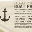 Soirée Boat Party IRM Music Therapy w/ Tim Paris, Joff Logartz, Fady One à MARSEILLE @ Bateau l'Helios - Billets & Places