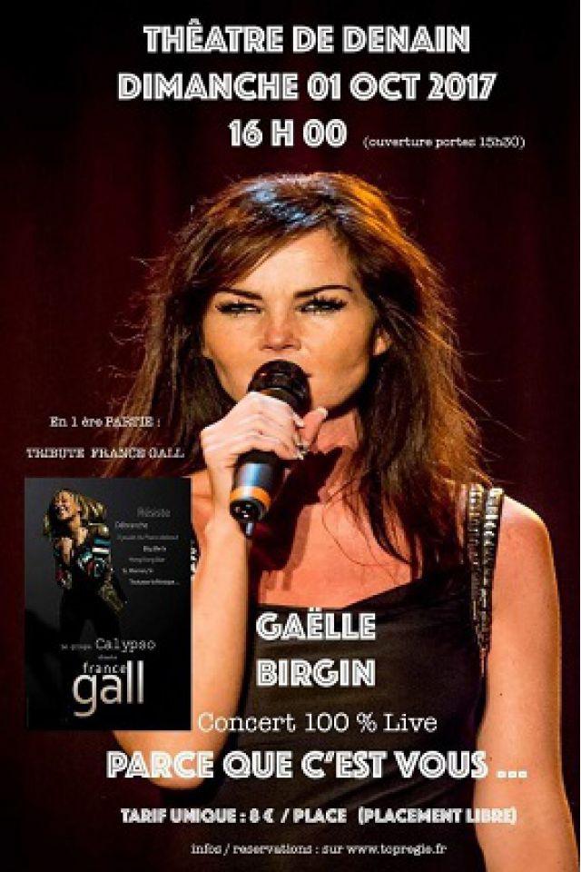 Concert Gaëlle Birgin à DENAIN @ Théâtre Municipal de Denain - Billets & Places