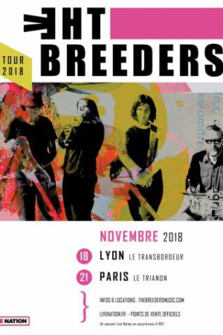 Concert THE BREEDERS à Paris @ Le Trianon - Billets & Places