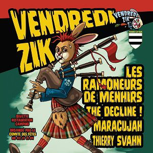 VENDREDIZIK @ Stade - YVIGNAC LA TOUR