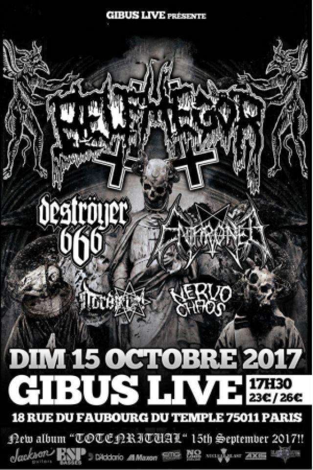 Concert Belphegor + Enthroned + Destroyer 666 + Nervochaos + Nordjevel