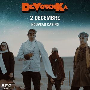 DeVotchKa @ Le Nouveau Casino - Paris