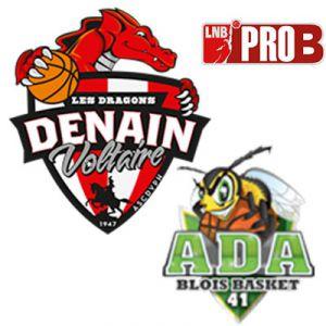 PRO B - VOLTAIRE vs BLOIS @ Complexe Sportif Jean Degros - DENAIN