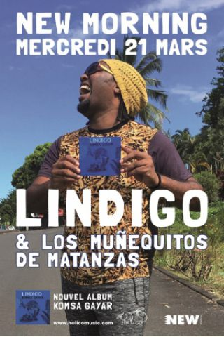 Concert LINDIGO & LOS MUÑEQUITOS DE MATANZAS à Paris @ New Morning - Billets & Places