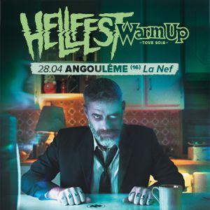 Concert HELLFEST WARM UP TOUR 2K18 : You Can't Control it à ANGOULÊME @ La Nef - Billets & Places